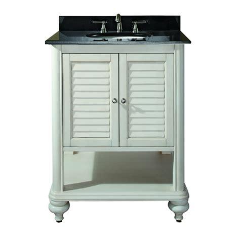 single sink bathroom vanity  antique white