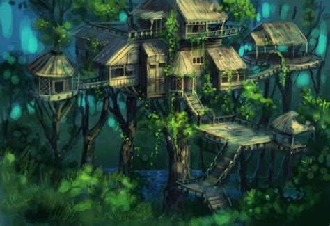 fantasy tree houses  results   rainforest wins