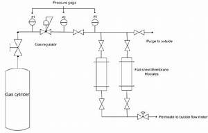 Schematic Diagram Of The Constant Pressure Testing System