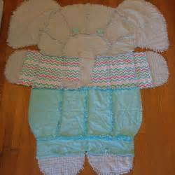 Elephant Rag Quilt Simplicity Pattern
