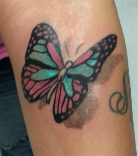 butterfly forearm realistic   butterfly tattoos