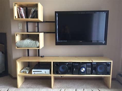 diy tv stands   build easily   weekend home