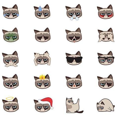 "Grumpy Cat On Instagram ""official Grumpy Cat Emojis Are"