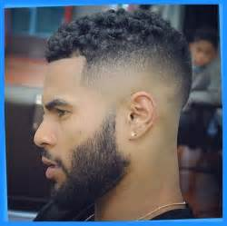 Afro Taper Fade Black Men Haircuts
