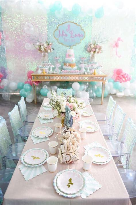 karas party ideas mermaid oasis themed birthday party
