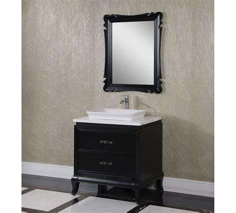 black bathroom vanity with vessel sink antique wk series 32 inch vessel sink bathroom vanity