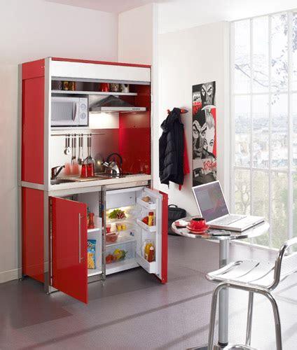 cuisine compacte pour studio mini cuisine équipée design pour studio petits espaces