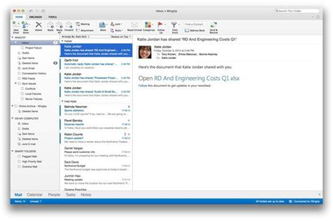 Office 365 Mail App For Windows by Outlook For Mac 15 3 Review Almost As As The Windows