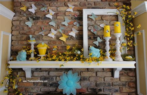 Easter Mantel Decorations  The Blog At Fireplacemall