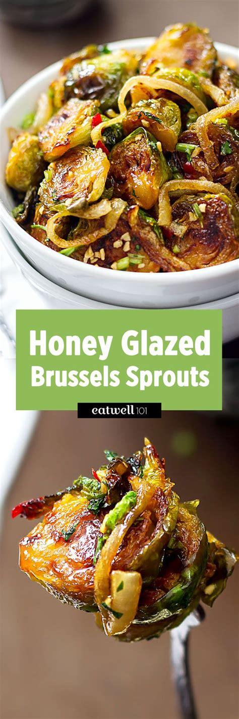 sauteed brussels sprouts  honey glazed eatwell
