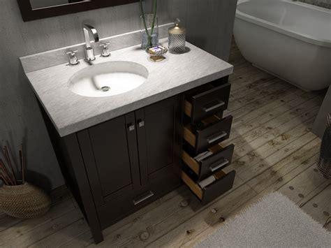 Ace Cambridge 37 Inch Single Sink Bathroom Vanity Set
