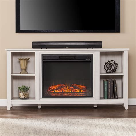 55 12 Parkdale Electric Fireplace Tv Stand White