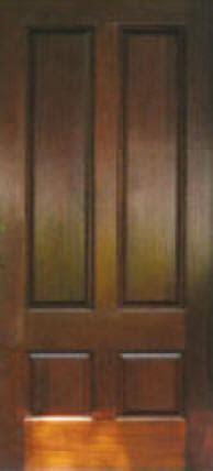 staining pine doors cherry doors