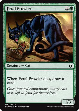 cat deck mtg standard hour of devastation feral prowler from hour of devastation spoiler