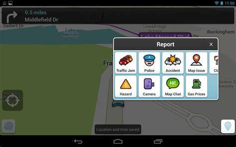 waze app android waze social gps maps traffic free v 3 7 2 0 apk