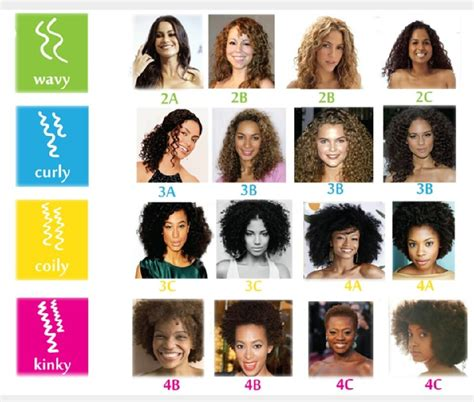 Categories Of Hair by Naturally Curly Hair Types Discover Yours Hairstylec