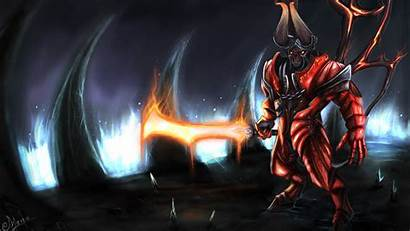 2k Wallpapers Dota Doom Lucifer Resolution Bringer