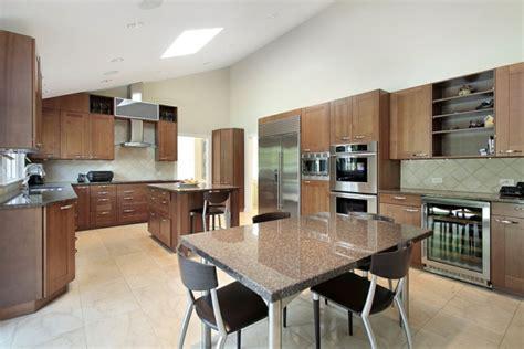 cuisine ouverte sur salle à manger best table salle a manger marbre design ideas lalawgroup