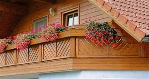 Sichtzäune Aus Holz : balkone aus holz ~ Watch28wear.com Haus und Dekorationen