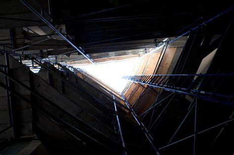 interior  courtyard  scaffolding san francisco