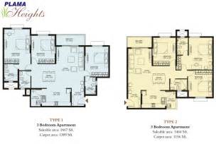 floor plan plama heights floor plan hennur road apartments bangalore property developers in