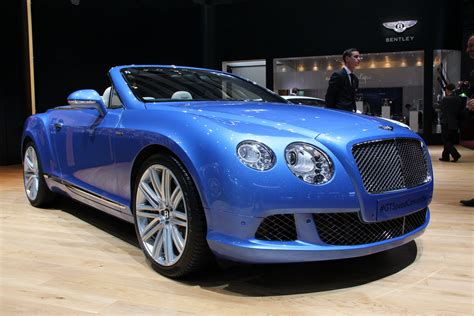 bentley continental gt speed convertible picture