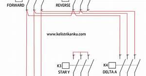 Membuat Rangkaian Kontrol Motor Listrik 3 Fasa Dua Arah