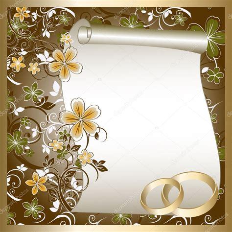 wedding card stock vector