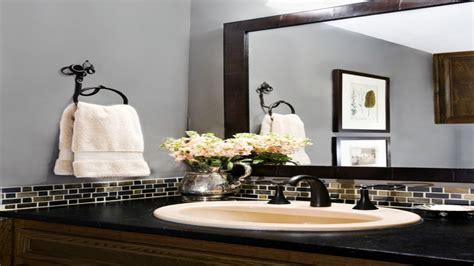 Bathroom Backsplash Tile Ideas by Bathroom Mirror Ideas Small Bathroom Glass Tile
