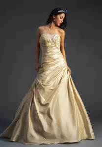 gold wedding dresses a wedding addict gold wedding gown 39 s
