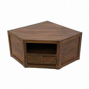 Meuble Angle Bois : meuble tv vid o angle palissandre 4988 ~ Edinachiropracticcenter.com Idées de Décoration