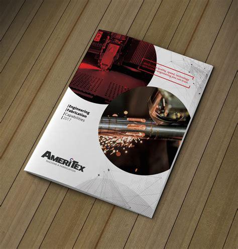 machine engineering  page brochure brochure design