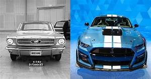 The Evolution Of The Ford Mustang (Captured In Pictures)
