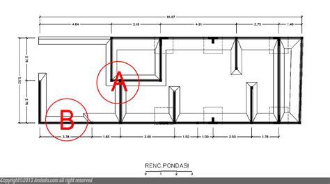 desain pondasi rumah minimalis gambar rumah idaman