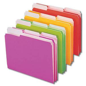 Office Supplies Folders by Smead 11925 Neon Colored Folders Buy Smead Office Supplies