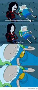 What's with t... Finn And Marceline Quotes