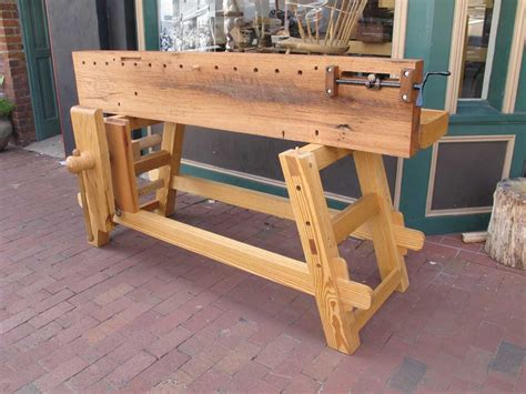 Woodworking Bench by Will Myers Moravian Workbench Lost Press