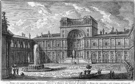 cortile belvedere giardino e pontificio belvedere