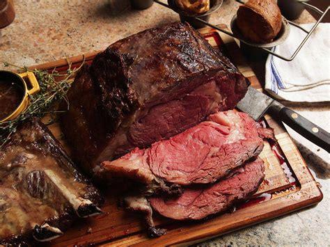 perfect prime rib menu  eats