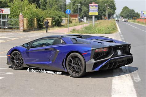 price of lamborghini aventador sv roadster lamborghini aventador sv roadster spied with carbon fiber roof panel
