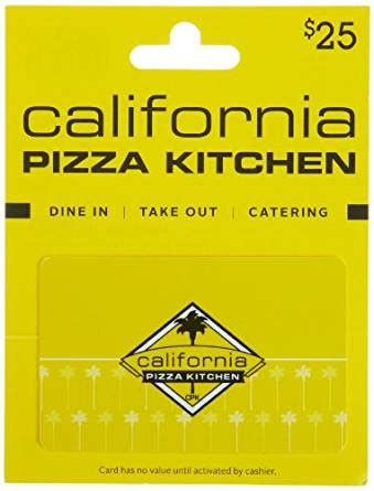 amazoncom california pizza kitchen gift card  gift cards