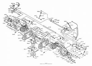 Dixon Ztr 5502  1996  Parts Diagram For T Hydro