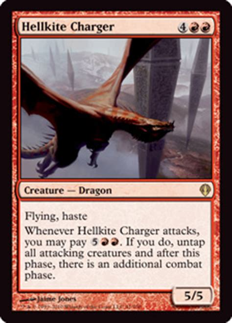 Hellkite Overlord Deck by Hellkite Charger Archenemy Gatherer Magic The Gathering