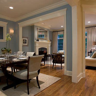 Living Room And Dining Room Open by Molding Inspiration For Our New Doorway I Blue