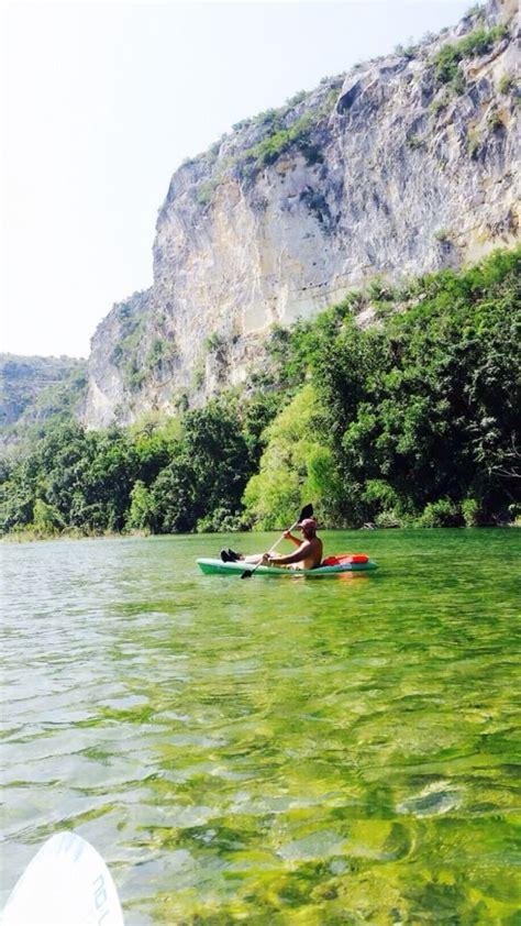 chalk bluff summer  nueces river kayak