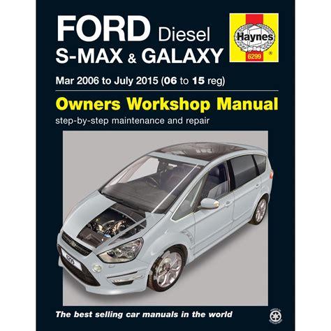 haynes owners workshop repair manual ford  max galaxy
