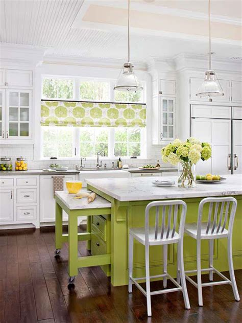 modern furniture  white kitchen decorating ideas  bhg