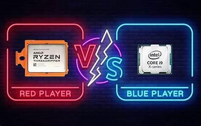 Amd Intel Vs Ryzen I9 Cpu Core