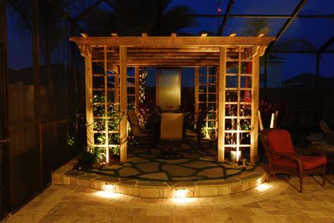 Outdoor Lighting Ideas For Arbors And Pergolas Decorating