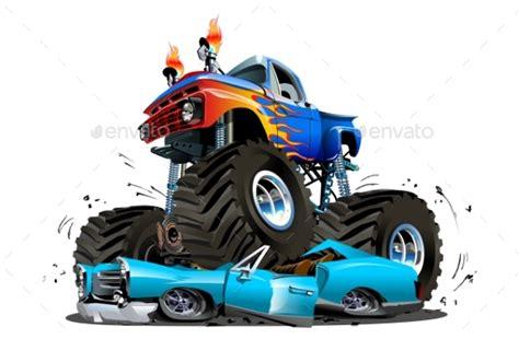monster trucks races cartoon racing monster dump trucks tinkytyler org stock photos